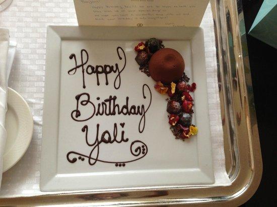 Sofitel Chicago Magnificent Mile : Chocolate Birthday Surprise!