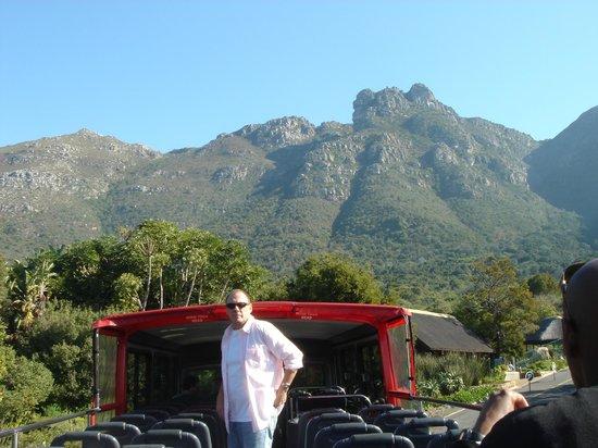 Dongola Guest House: Open top bus tour