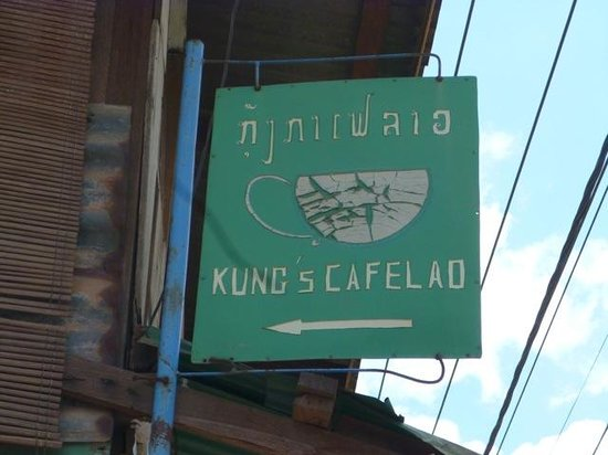 Kungs Cafe: Look for this sign...