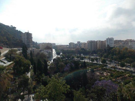 Vista dall' Alcazaba