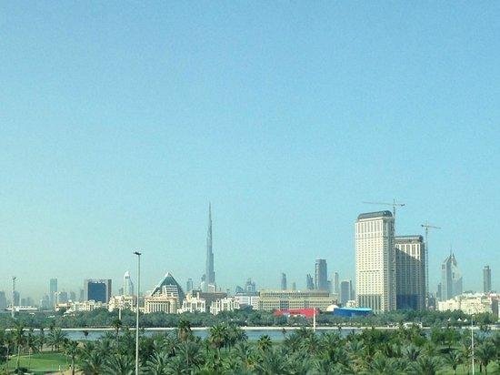 Jumeirah Creekside Hotel: View from room towards Dubai Creek
