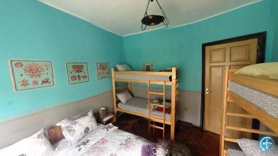 Hostel Mostel: this is a double room for two people