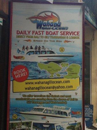 Wahana Gili Ocean: WG Billboard