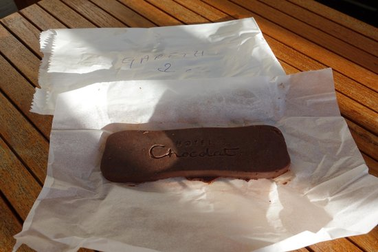 Boucan by Hotel Chocolat: My bar of chocolate!!