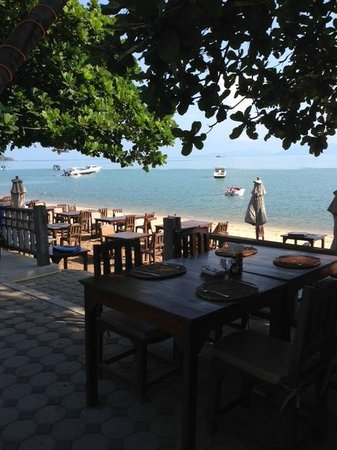 Fisherman's Village : Breakfast view at Smile House in Fishermans Village
