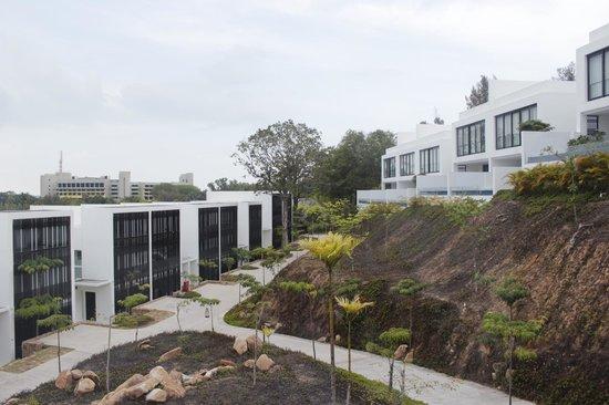 Montigo Resorts Nongsa: View of the resort from corridor of the living room.