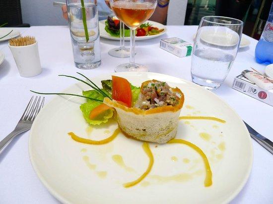Restaurant Le Quai : Tartare de thon