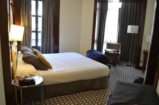 Eurostars Gran Via: standard double corner room