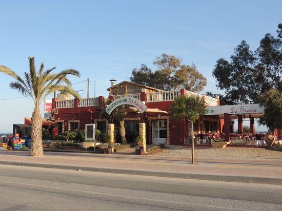 La Siesta: Outside Restaurant