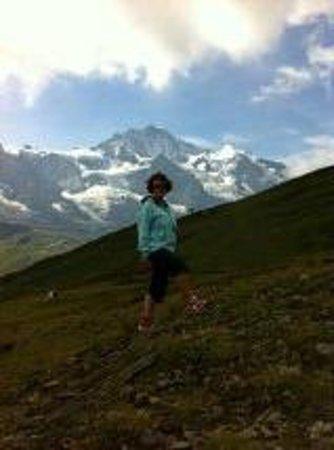 Panorama magnifique de la Kleine Scheidegg