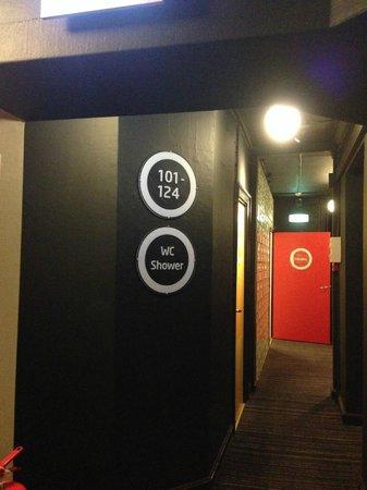 Annex Copenhagen: 房間走道