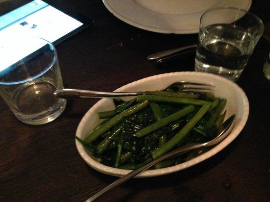 To Beef or Not To Beef: fagioli verdi