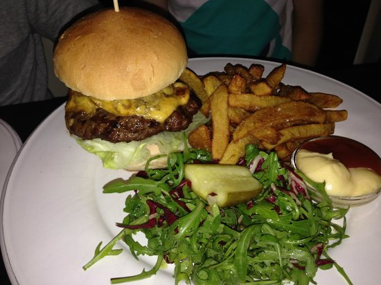 To Beef or Not To Beef: house burger