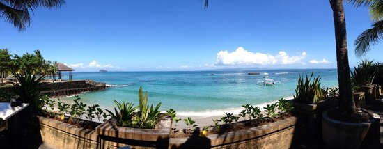 Candi Beach Resort & Spa: View from the restaurant