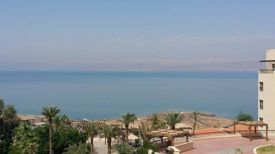 Dead Sea Spa Hotel Resort: Stunning view from our  hotel room
