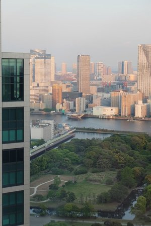 Park Hotel Tokyo: Park view (浜離宮恩賜庭園)