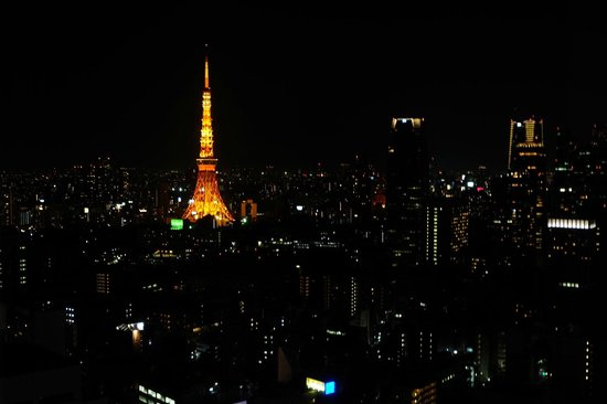 Park Hotel Tokyo: Tower view