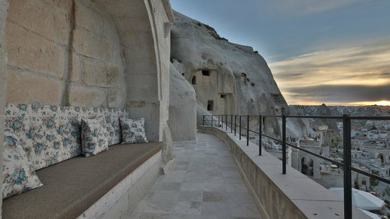 Vezir Cave Suites: View from room 109