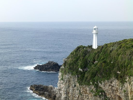 Cape Ashizuri: 足摺灯台の遠望