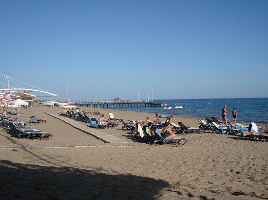 Susesi Luxury Resort: Beach view