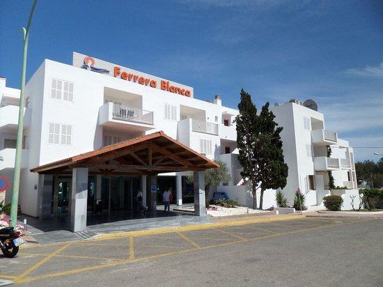 Aparthotel Ferrera Blanca: The hotel