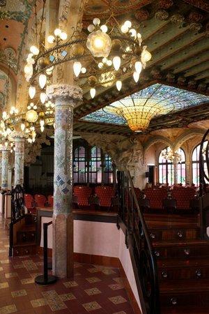 Palau de la Musica Orfeo Catala: Sala