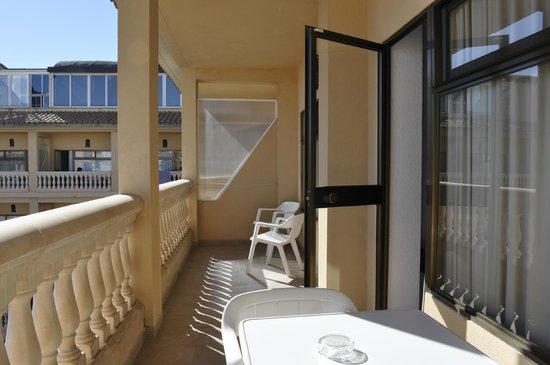 Isla del Sol: балкон