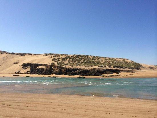 Moulay Bousselham Lagoon: Merja (lagoon)
