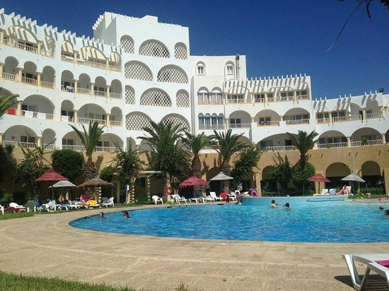 Delphin Ribat: The view from the pool