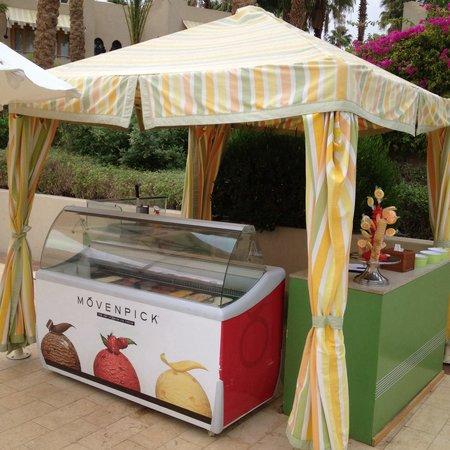 Four Seasons Resort Sharm El Sheikh: Мороженое