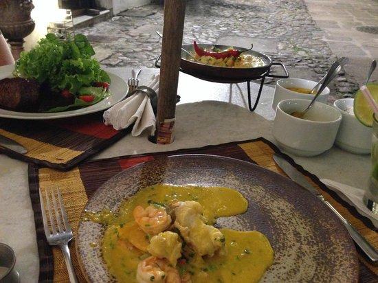 Villa Bahia : dinner