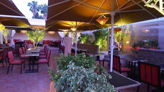 Restaurant Cote' Court : la terrasse