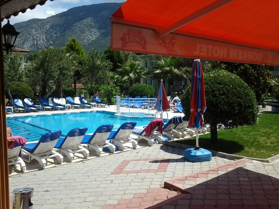 Gorkem Hotel: May 2014.Room in the pool