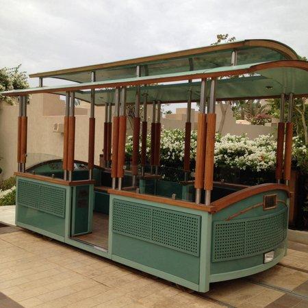 Four Seasons Resort Sharm El Sheikh: Трамвайчик