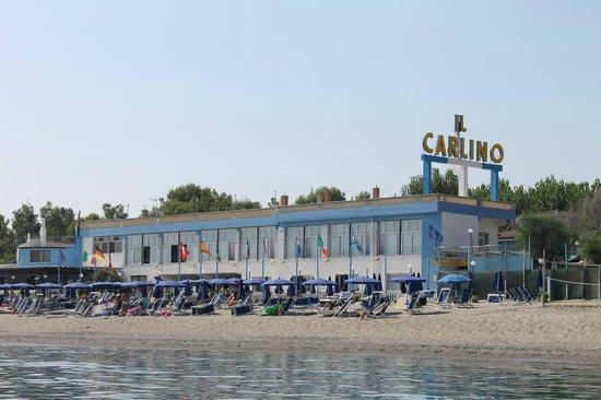 Pietrapaola, Italia: Spiaggia, Mare, Ristorante Lato Mare (piano superiore) e Bar