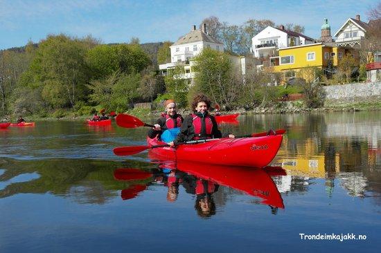 Trondheim kayak