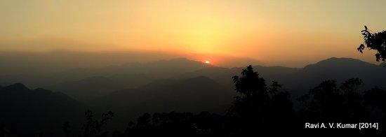 """Jilling Estate: Sunrise from the veranda of the """"Bangla"""""""