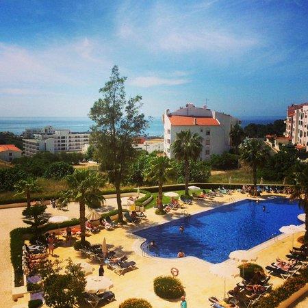Vila Gale Cerro Alagoa: View from the balcony