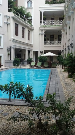 Grand Hotel Saigon : Quaint little hotel with a lot of character. The hotel is a bit old but location is very good. A