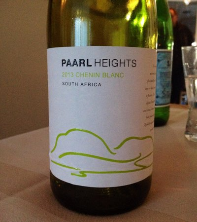 LIEVERD: Good white wine from South Africa