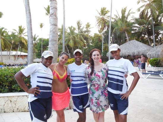 Grand Palladium Punta Cana Resort & Spa: Lililana, Mayeline y Carolina