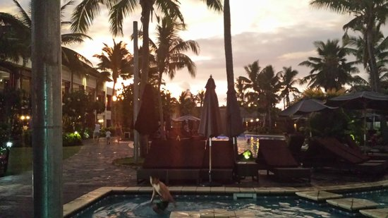 Sofitel Fiji Resort & Spa: Sunset