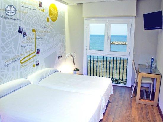 Hotel La Chancla: Habitación