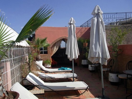 Riad Bahia: Dachterrasse