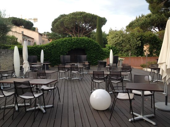 Benkirai Hotel: la terrasse