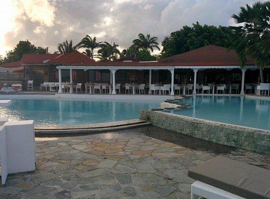 La Toubana Hotel & Spa: Piscine a debordement