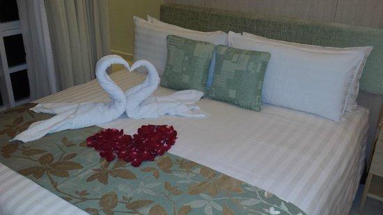 PARKROYAL Serviced Suites Kuala Lumpur: our arrival surprise