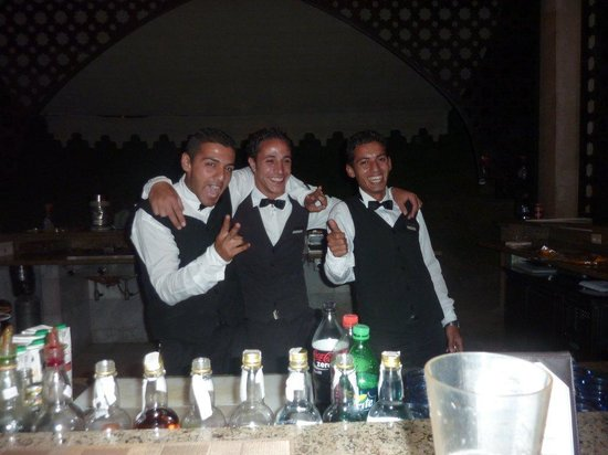 Le Royale Sharm El Sheikh, a Sonesta Collection Luxury Resort: FANTASTIC BAR STAFF