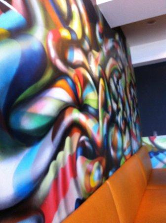 Tarallucci: Grafitti wand