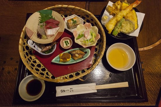 Nishiya Honten: The other food in the set - delicious!